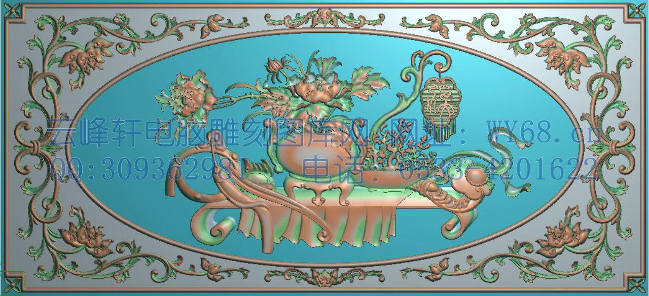木雕洋花梳孑图片