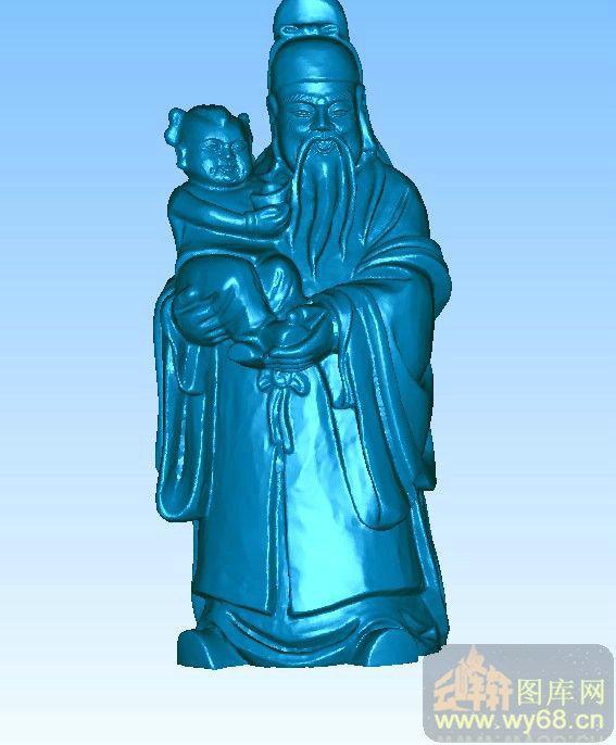 下一页:福星-圆雕图库   文件名称: 禄星童子-精品三维雕刻图库 文件