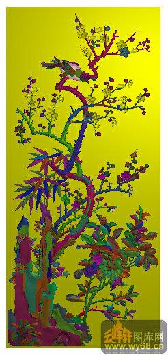精雕图 电脑雕刻图        上一页:书柜门板 竹子 竹笋-精雕图案图库