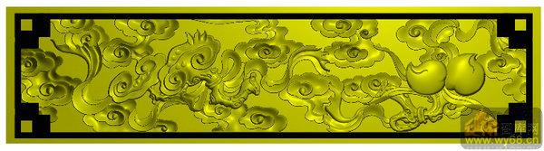 葫芦-家具雕刻图
