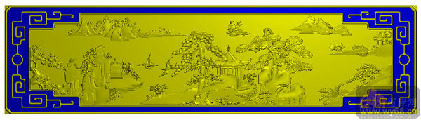 文件简介: 山水图 松树 仙鹤 回纹边,家具雕刻素材,jdp格式精雕图,本图案主要是用于工艺美术雕刻使用,是木工雕刻、玉石雕刻、石材雕刻、竹木雕刻、家具雕刻、红木雕刻、密度板雕刻、3D浮雕、立体浮雕、镂空浮雕、镂空隔断必备工具图库,是国内最全面的图案资料库。 关键字: