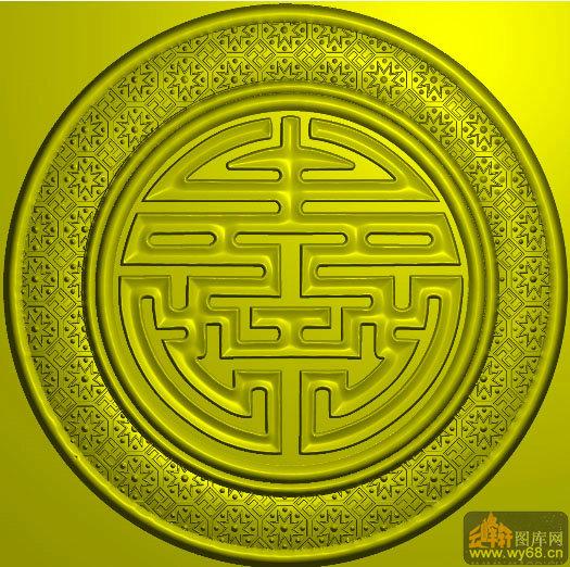 图片_寿字双龙币真品图片_寿字集_十字绣寿字图案大全 - 黑马素材网