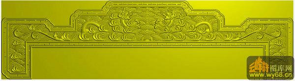 西洋花 花纹-家具雕刻素材