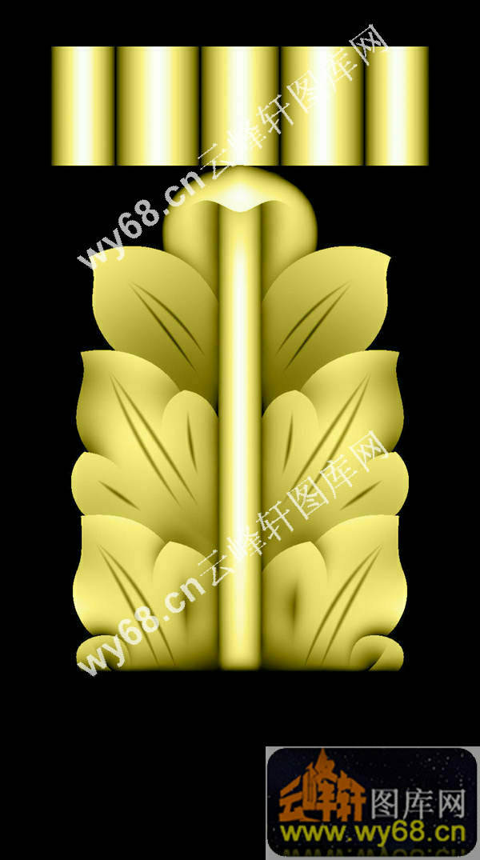 树叶花纹-欧式雕刻素材