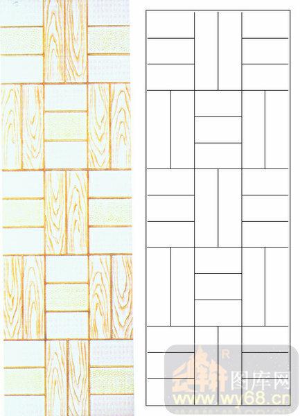 04肌理雕刻系列样图-方框-00046-艺术玻璃图库