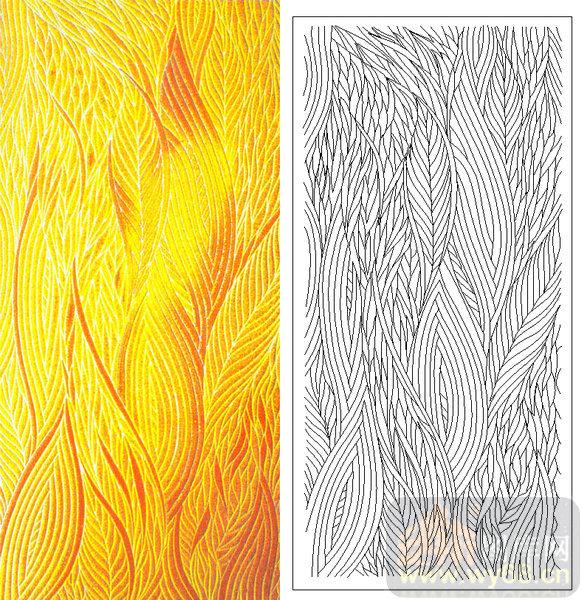 04肌理雕刻系列样图-纹路-00087-喷砂玻璃