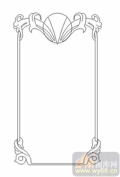 19车边镜-简约边框-00198-装饰玻璃