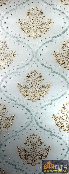 南方深雕玻璃图库-欧式花纹-00035-艺术玻璃样本