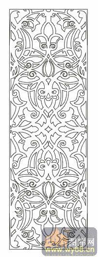 文件名称: 欧式抽象几何-传统花纹-00129-玻璃门 文件类型: .图片