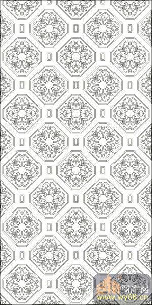 欧式抽象几何-传统花纹-00244-艺术玻璃图库