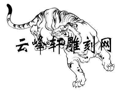 虎的简笔画画法步骤图
