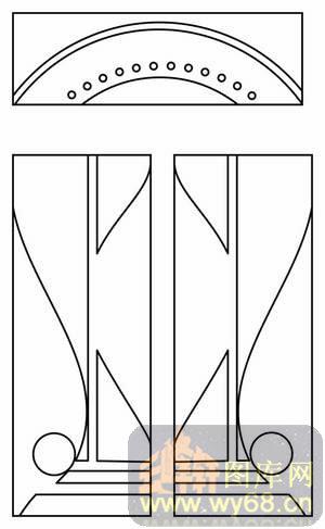 几何花纹-线描图,白描图,云峰轩雕刻图库网