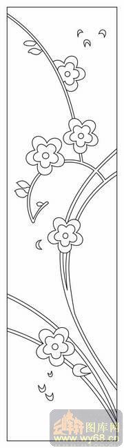 梅花手绘图素描