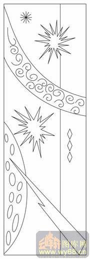 艺术松树-线描图,白描图,云峰轩雕刻图库网