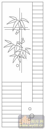雕刻竹子素描画法步骤图
