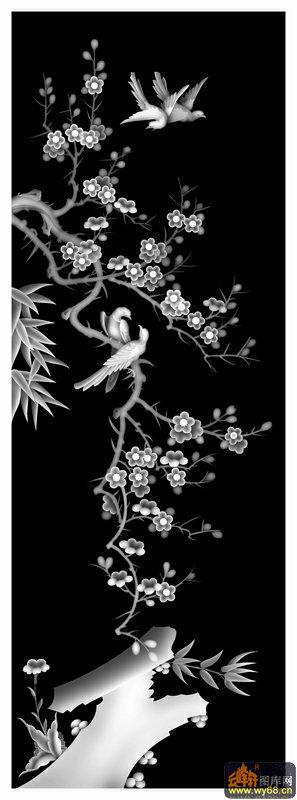 13355     上一页:梅花 鸟-木雕灰度图   下一页:梅花-精雕灰度图