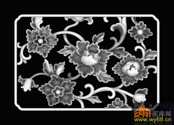 欧式图案 花纹-浮雕图案-灰度图,bmp图,浮雕图,云峰轩