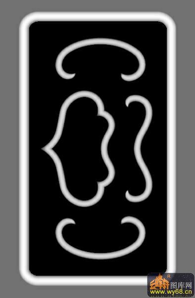 云纹-灰度图电脑雕刻图