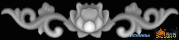 03-传统花纹-032-花纹花边精雕灰度图