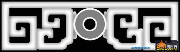03-传统花纹-062-花纹花边浮雕灰度图