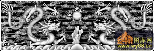 龙云 火球-灰度图