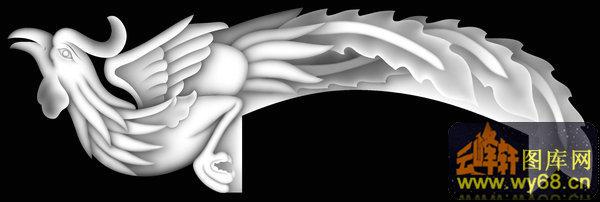 凤凰-浮雕图案