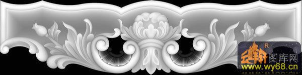 花纹 花钩-浮雕图案