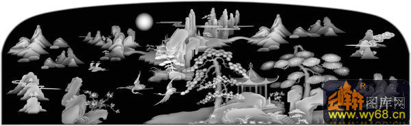 文件简介: 山水 仙鹤 树 凉亭,雕刻灰度图,每个图案都是bmp格式,可直接导入TYPE3、精雕、ArtCAM等各种浮雕软件可直接编辑刀具路径,普遍用于广告雕刻、木工雕刻、大理石雕刻、砖雕、玉石、工艺品、浮雕、各种五金模具浮雕、仿古家具浮雕、星级酒店主题浮雕、壁画浮雕荼盘浮雕、工艺品浮雕、旋转浮雕雕刻、玉石雕刻、大理石雕刻、模特人物模型、旋转雕、佛像360度旋转雕、礼品盒浮雕、首饰浮雕、人物浮雕、波浪板浮雕。使在美术设计方面不足的用户,利用我们的图库直接雕刻出立体感强烈的逼真浮雕作品来。 关键字: