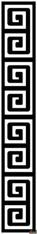 页回形 字体设计