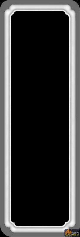 边框-灰度图库素材