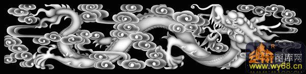 龙 花纹-浮雕图案
