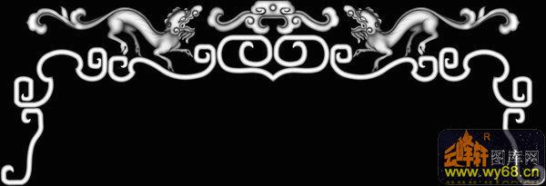 下一页:帽子 花纹 云纹-灰度雕刻图   文件名称: 龙 花纹 花钩-浮雕图片