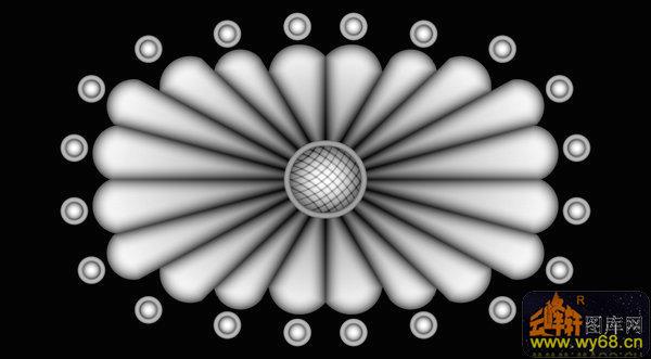 花纹 圆-浮雕图案