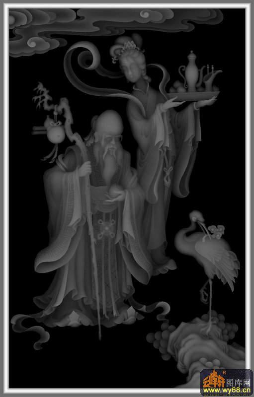 人物 天官赐福-浮雕图案   下一页:人物 仙鹤 天官赐福-欧式洋花浮雕