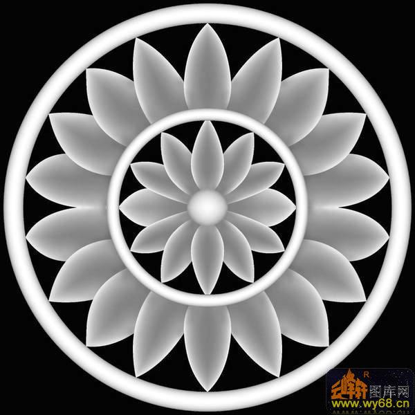 花纹 圆-浮雕图案图片