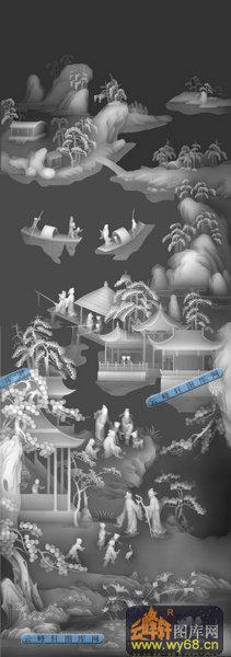 灰度图浮雕图系列 山水,风景,树木灰度图大全  本页编号:1677 图案类
