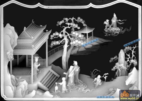 灰度图浮雕图系列 山水,风景,树木灰度图大全  本页编号:1959 图案类