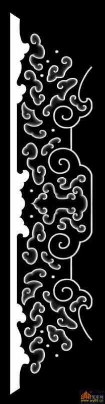 花纹 云纹-灰度图电脑雕刻图