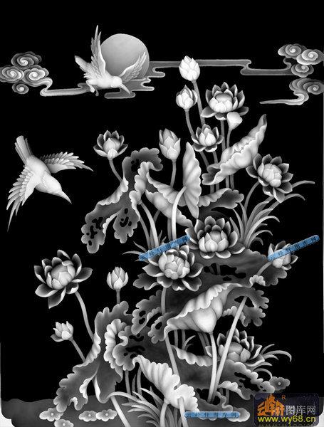 鱼灰度图浮雕图 琴棋书画,灰度图雕刻图案 圆盘灰度图,雕刻图 玉雕图