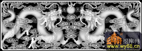 首页 灰度图浮雕图系列 欧式洋花浮雕灰度图
