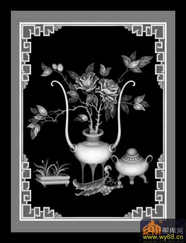 文件简介: 牡丹花 花瓶 鼎,雕刻灰度图,每个图案都是bmp格式,可直接导入TYPE3、精雕、ArtCAM等各种浮雕软件可直接编辑刀具路径,普遍用于广告雕刻、木工雕刻、大理石雕刻、砖雕、玉石、工艺品、浮雕、各种五金模具浮雕、仿古家具浮雕、星级酒店主题浮雕、壁画浮雕荼盘浮雕、工艺品浮雕、旋转浮雕雕刻、玉石雕刻、大理石雕刻、模特人物模型、旋转雕、佛像360度旋转雕、礼品盒浮雕、首饰浮雕、人物浮雕、波浪板浮雕。使在美术设计方面不足的用户,利用我们的图库直接雕刻出立体感强烈的逼真浮雕作品来。 关键字: