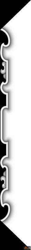 花纹 床头柜-浮雕灰度图