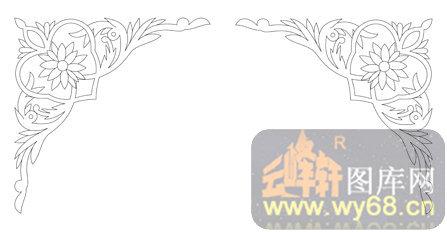 简单边角镂空花纹内容简单边角镂空花纹版面设计