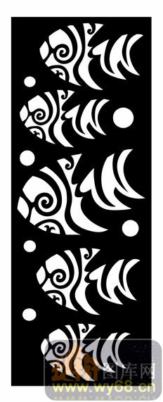 木雕综合001-艺术鱼-欧式002-053-电视背景墙