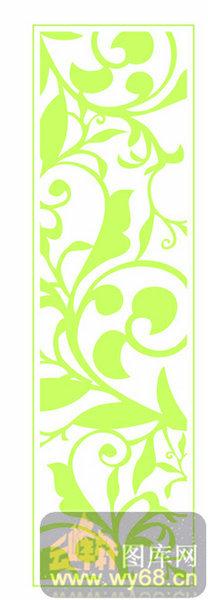 001-绿色花藤-欧式镂空装饰001-079-木雕花镂空隔断