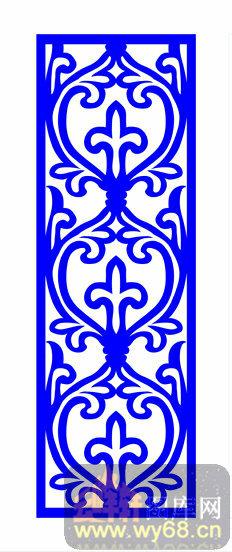 欧式镂空装饰002-优雅古风-欧式1-068-镂空雕花矢量