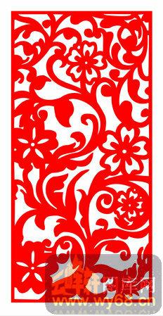 欧式镂空装饰002-花卉花藤-欧式1-144-木雕花镂空