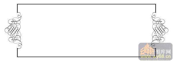 002矢量花边边角-长方形-矢量花边边角001-096-雕花