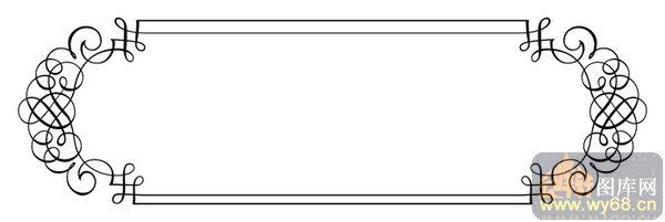 002矢量花边边角-绿色花藤-矢量花边边角001-088
