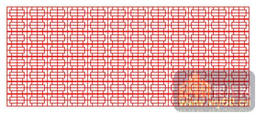 001-几何花纹-中式镂空装饰001-035-镂空雕花矢量图